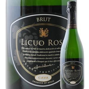 シャンパン・スパークリングワイン リクオ・ロス・ブリュット ボデガス・ヴァルサクロ NV スペイン ラ・リオハ 白 辛口 750ml wine|wsommelier