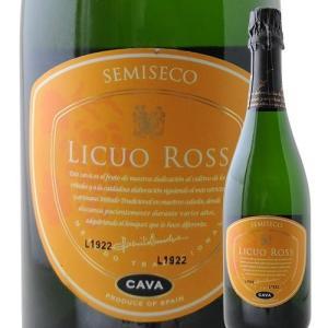 ワイン スパークリング リクオ・ロス・セミセコ ボデガス・エスクデロ NV スペイン ラ・リオハ 白 中甘口 750ml wine|wsommelier
