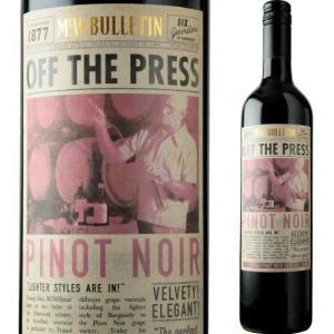ワイン 赤ワイン オフ・ザ・プレス・ピノ・ノワール マクウィリアムズ・ワイン・グループ 2018年 オーストラリア フルボディ 750ml wine|wsommelier