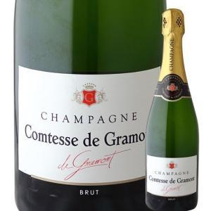 シャンパン コンテス・ド・グラモン シャンパーニュ・ブリュット NV フランス シャンパーニュ・白 ...