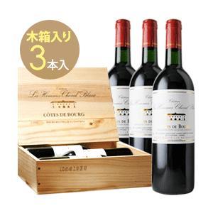 赤ワイン 3本木箱入 シャトー・レ・ゾム・シュヴァル・ブラン 1998年 フランス ボルドー フルボディ 750ml wine|wsommelier
