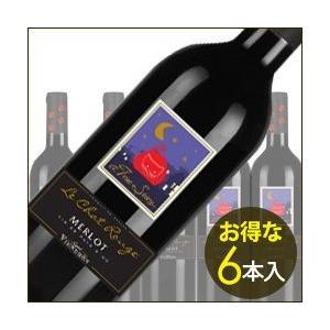 赤ワイン ケース販売6本入 ル・シャ・ルージュ・メルロ シーニェ・ヴィニュロン 2012年 フランス ラングドック&ルーション ミディアムボディ 750ml wine|wsommelier