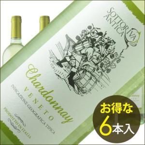 ケース販売6本入 白ワイン ソットリーヴァ・アンティカ・シャルドネ デスモンタ(IEI) 2015年 イタリア ヴェネト 辛口 750ml wine|wsommelier