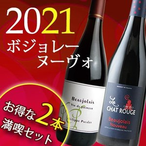 赤ワインセット 満喫ボジョレーヌーヴォー2017年 2本セット wine set|wsommelier
