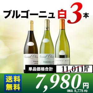 白ワインセット ブルゴーニュ白3本セット 第8弾 送料無料 wine set|wsommelier
