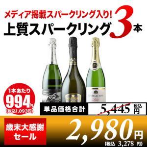 「20」シャンパン・スパークリングワインセット 全部フランス産辛口スパークリングワイン3本セット w...