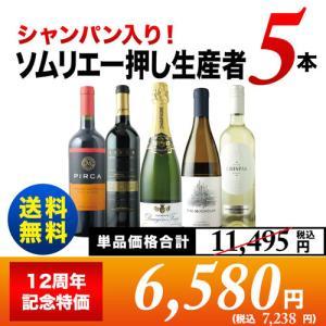 SALE ワイン  ワインセット「7」100点醸造家のトップキュヴェ入り!コスパ日本一セット(MIX6本) 送料無料 スパークリング1本&白2本&赤3本 wine set|wsommelier