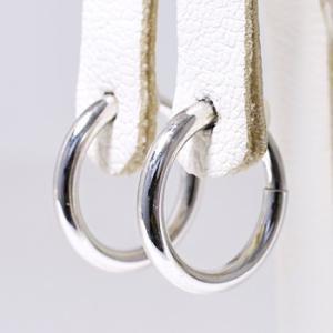 まるでピアスみたいなばね式リングイヤリング金具(K14WG)(真珠用)[n6] wsp 03