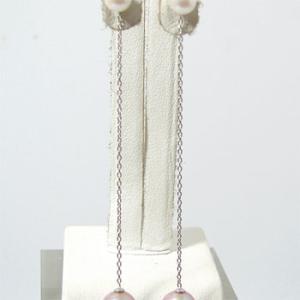 極細あずきチェーン 5cm ピアスチャーム金具   真珠用[n4] wsp