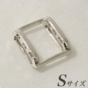 ブローチを帯留めに変身!万能くん金具 S(17.0×15.0mm) シルバー(silver) [n3](和装 着物) wsp