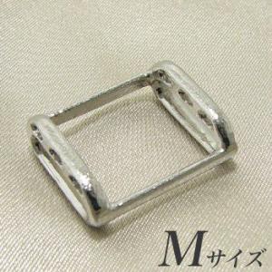 ブローチを帯留めに変身!万能くん金具 M(1.7×2.0cm) シルバー(silver) [n3](和装 着物)|wsp