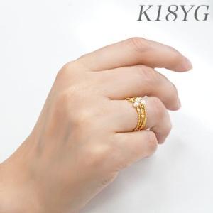 K18WG/K18YG スパイラル パールリング 〜Petit Claire(プチクレール)〜 あこや真珠 ホワイト系 3.0-3.5mm フリーサイズ(S・M)形状記憶ワイヤー[n6]|wsp|04
