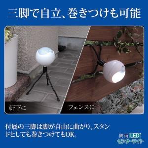 LEDどこでもセンサーライト防雨型|wtz