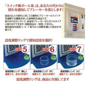 スイッチ断ボール3 家庭用 感震ブレーカー 自動電源遮断器 簡易タイプ 防災 漏電遮断機 地震対策 通電火災防止|wtz|03