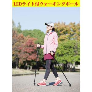 LEDライト付 ウォーキングポール|wtz