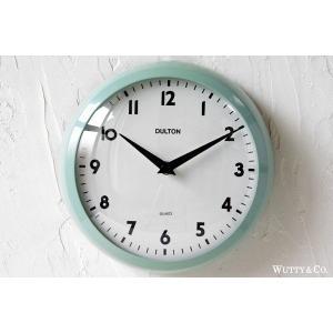掛け時計 ラウンド DULTON GREEN (おしゃれ 掛時計)|wutty