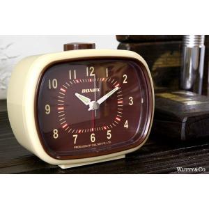 置時計 目覚まし時計 ClassicBell BR (おしゃれ 置き時計 )|wutty