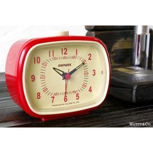 置時計 目覚まし時計 ClassicBell RD (おしゃれ 置き時計 )|wutty