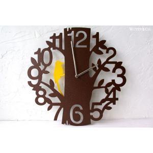 掛け時計 PICUS BR 振り子時計 (おしゃれ 掛時計)|wutty