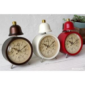 置時計 目覚まし時計 LEGER (アンティーク調 置き時計)|wutty