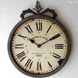 掛け時計 Grege Wall Clock (アンティーク調 掛時計)|wutty