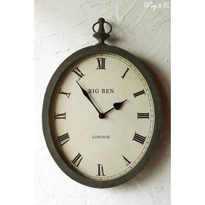 壁掛時計 Orval London Clock (アンティーク調 掛時計)|wutty