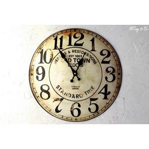 壁掛時計 Old Town ( アンティーク調 掛時計 )|wutty