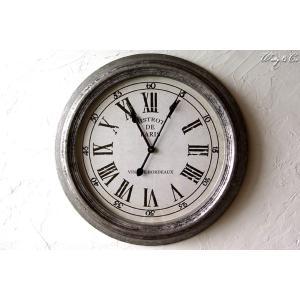 壁掛時計 Tin Bistrot Clock (アンティーク調 掛時計) wutty