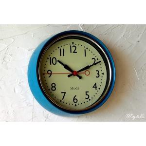 壁掛け時計 ClassicRound BL ( シンプル 壁かけ時計 )|wutty