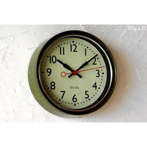 壁掛け時計 ClassicRound GR ( シンプル 壁かけ時計 )|wutty