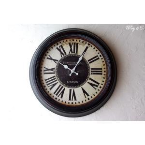 壁掛時計 59 Bond Street Clock ( アンティーク調 掛時計 )|wutty