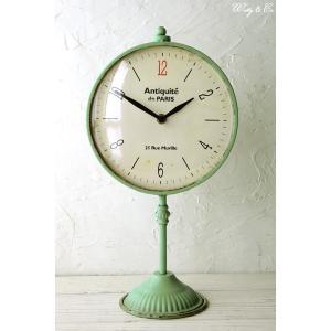 置時計 Capella Stand Clock ( アンティーク調 置き時計 おしゃれ クロック )|wutty