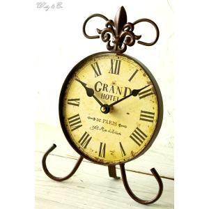 置時計 DeParis ( アンティーク調 置き時計 おしゃれ クロック )|wutty
