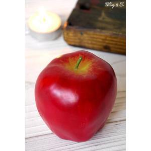 キャンドル アップル (Candle ロウソク ローソク 蝋燭)|wutty