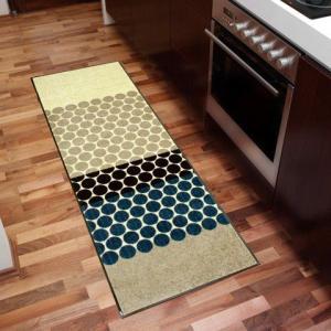キッチンマット Mixed Dots 60x180cm (屋外・屋内兼用)|wutty