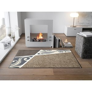 ラグマット Belgo beige 75x120cm (屋外・屋内兼用)|wutty