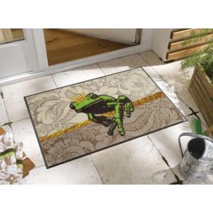 玄関マット Froschkonig 50x75cm (屋外・屋内兼用)|wutty