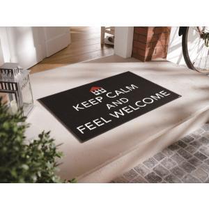 玄関マット Keep Calm 50x75cm (屋外・屋内兼用)|wutty
