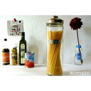DULTONダルトン パスタジャー (ガラスキャニスター パスタボトル パスタポット 保存容器)|キッチン雑貨|wutty