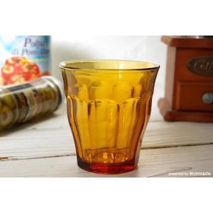 グラス コップ DURALEX ピカルディ アンバー (タンブラー)|wutty