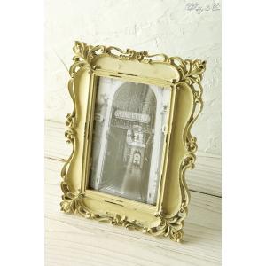フォトフレーム Collins Frame ( アンティーク加工 壁掛け対応 写真立て フォトスタンド )|wutty
