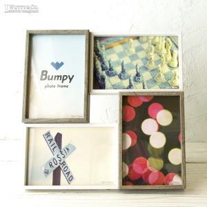 フォトスタンド Mix Square Soft ( 置型 おしゃれ フォトフレーム PHOTO FRAME 写真立て 写真入れ ) KI|wutty