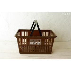 マーケットバスケット GHBA Bown S ( 収納かご ランドリー 保存ボックス 買い物カゴ 小物入れ )|wutty