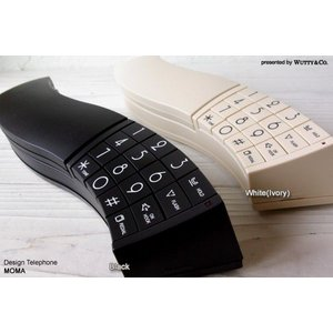 電話機 ウェーブフォン design telepone MOMA (デザインテレフォン)|wutty