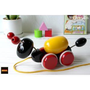 木のおもちゃ BRIO プルトイ アリさんとローリングエッグ|wutty
