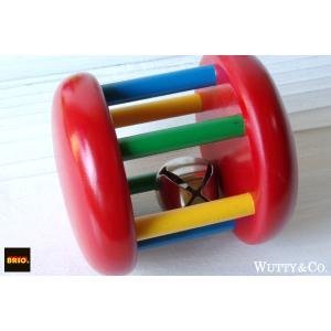 ガラガラ/がらがら BRIO (すず 木製 知育玩具)|wutty
