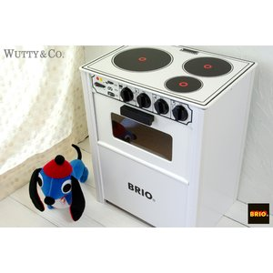木のおもちゃ BRIO レンジ White (おままごと キッチン)|wutty