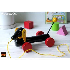 木のおもちゃ BRIO プルトイ ダッチーS (知育玩具)|wutty