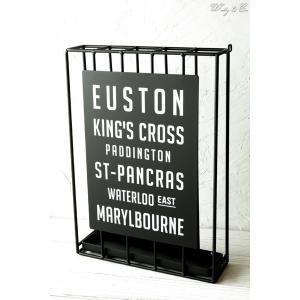 傘立て Euston Slim ( おしゃれ シンプル アイアン アンティーク調 玄関収納 アンブレラスタンド ) KI|wutty