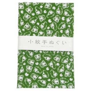 日本手ぬぐい 36 かえる てぬぐい 手拭い 小紋柄 和手拭い